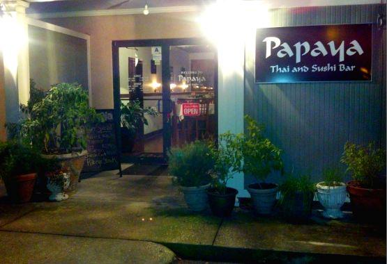 Papaya Thai Cuisine and Sushi Bar, Beaufort, SC
