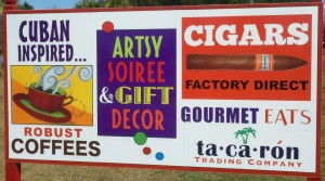 Beaufort's new ta•ca•ron Trading Company supplies the area with premium Cuban Seed Cigars, Robust Coffees, Gourmet Eats, eclectic Gift Décor and lots more.