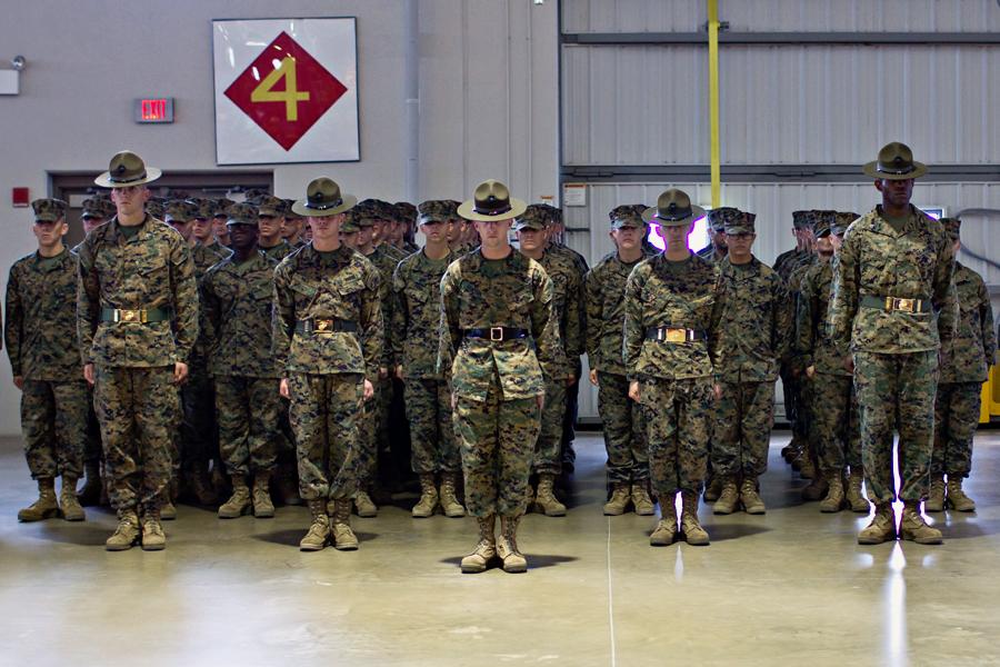 The life of a USMC Drill Instructor, By Ashley Horsley:  EatSleepPlayBeaufort.com