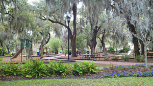 Pigeon Point Park is one of Beaufort's most popular local neighborhood parks.