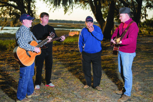 Sometimes Later Band: We Play the Music You Like to Hear:  Photo by Paul Nurnburg for Beaufort Lifestyle Magazine