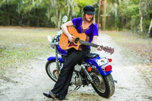 Rock n Roll Librarian:  Amanda Brewer  (photo by Paul Nurnberg for Beaufort Lifestyle magazine)