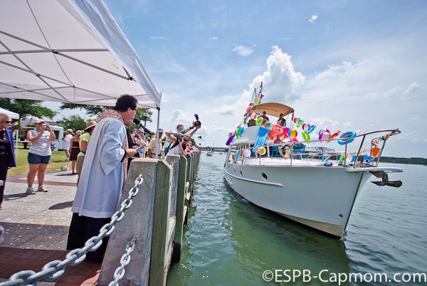 The Blessing of the Fleet and Parade of Boats mark the end of the Water Festival. ESPB photo
