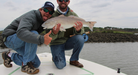 Local fishing guide picked to guide charters in russia for Beaufort sc fishing charters