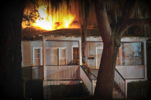 Prince Street house in Beaufort's Historic District burns after possible lightning strike