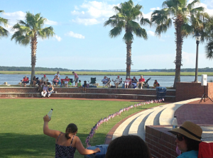 Beaufort celebrated Flag Day with a patriotic ceremony at Henry C. Chambers Waterfront Park  Photo by Whitney Rauenhorst