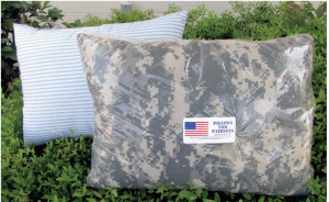 Saluting Beaufort's Pillows for Patriots:  For more information, please visit www.pillowsforpatriots.org