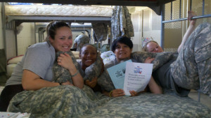 Beaufort's Pillows for Patriots has shipped out nearly 60,000 pillows to our troops in combat regions across the world.