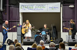 StreetMusic concerts a friendly feeling of community