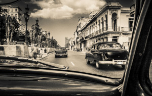 Sandy Dimke: Through theWindshield - Havana