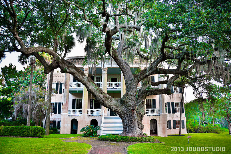 The Castle: Lush Gardens, Grand Oaks and French Ghosts