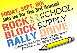 Habersham hosts 3rd annual Rock the Block Back to School Rally