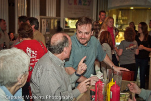 Meet a Local:  Meet Nick Borreggine  Photo from Fat Patties HELP of Beaufort Celebrity Server Fundraiser