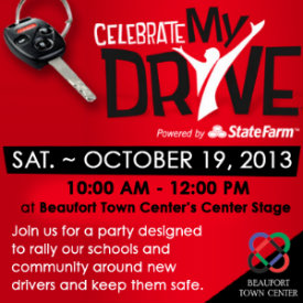Celebrate My Drive rally coming to Beaufort Town Center
