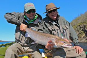 The Ponoi River is one of the best Atlantic Salmon fisheries in the world
