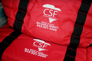 Sea Eagle Markets CSF shares will come in these thermal bags.