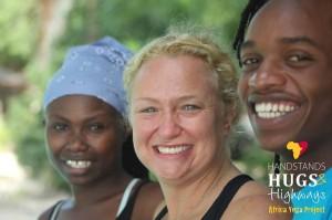 Africa Yoga Project Tour visits Beaufort...from Nairobi