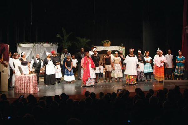 Aunt Pearlie Sue at the 2013 production of Gullah Kinfolk Christmas Wish Photo by Susan DeLoach