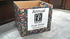 FWDG holding Annual Coat Drive through December 31st