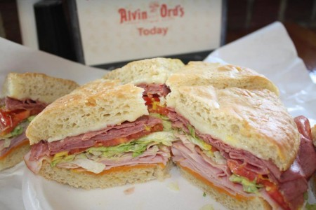 This sandwich from Alvin Ord's is called the Salvation for a reason.