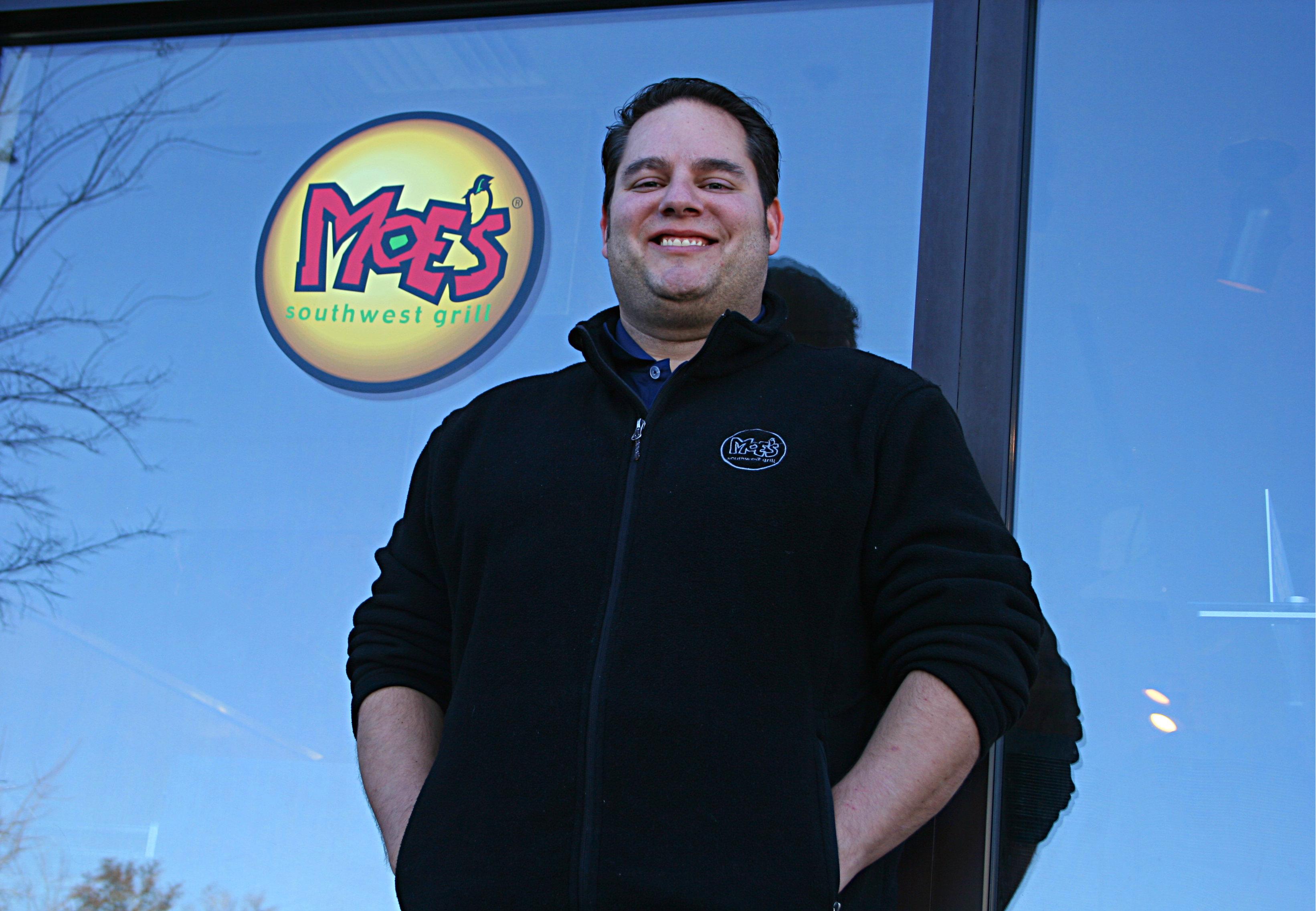 Meet a Local:  Meet Jeff Feus, owner of Moe's Southwest Grill
