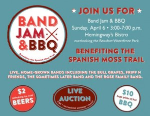 Hemingway's Bistro to jam for Spanish Moss Trail