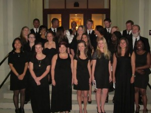 On Saturday, The Beaufort Memorial Hospital Foundation hosted the Duke Symphony Orchestra, conducted by Harry Davidson at the USCB Center for Arts, and featured the USCB University Chorus, directed by Victor Varner.   Photo courtesy Susan Fillmore