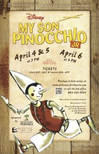 Hit the stage with My Son Pinocchio, Jr and the Beaufort Children's Theatre