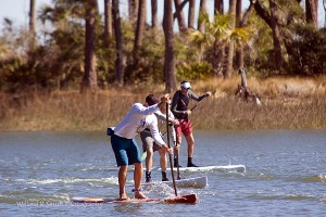 The 10th Annualk Hunting Island Adventure Biathlon took place last month in the lagoon at Hunting Island Beach.
