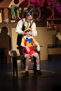 My Son Pinocchio, Jr. runs Friday & Saturday, at 7:00 pm & Sunday at 3:00 pm t USCB's Center for the Arts