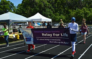 Members of our local community rallied together to help find a path to a cure for cancer forever with a day full of activities in the 2014 Beaufort Relay for Life, held at Beaufort High School. Growing bigger and bigger each year, the day's events included a kids cancer walk, live music, dance performances, luminara lighting and lots more.