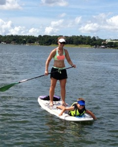 Stand up paddleboarding: Beaufort's Secret Sport Photo courtesy Tim Lovett