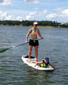 Stand up paddleboarding: Beaufort's Secret Sport Photo courtesy Tim Lovett