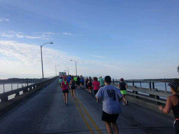 A Taste of Beaufort 5K: Running through history  Photo by Shannon Roberts