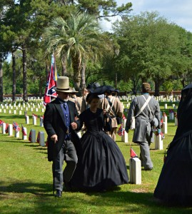 Previously unknown Confederate soldier's grave marker unveiled at Beaufort National Cemetery