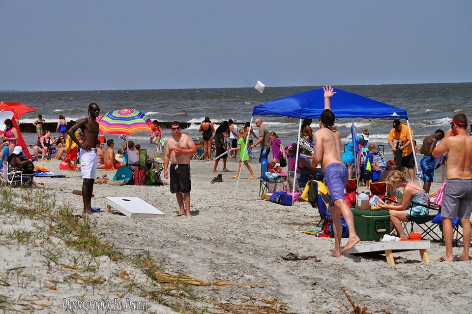 Memorial Day Weekend FUN at Hunting Island Beach  Photo by Dawn Ramsey