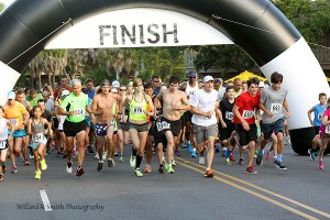 A Taste of Beaufort 5K: Running through history