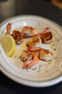 Boondocks blackened shrimp appertizer