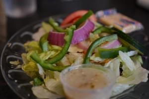 Boondocks greek salad