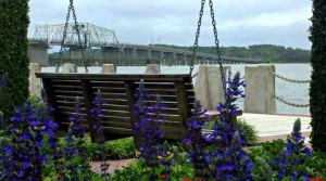 the Beaufort waterfront is the perfect place to go when one needs to find a different viewpoint, nurture a relationship (many a date has included a trip to the waterfront swings), or remember what it feels like to just sit still and be present in the moment.