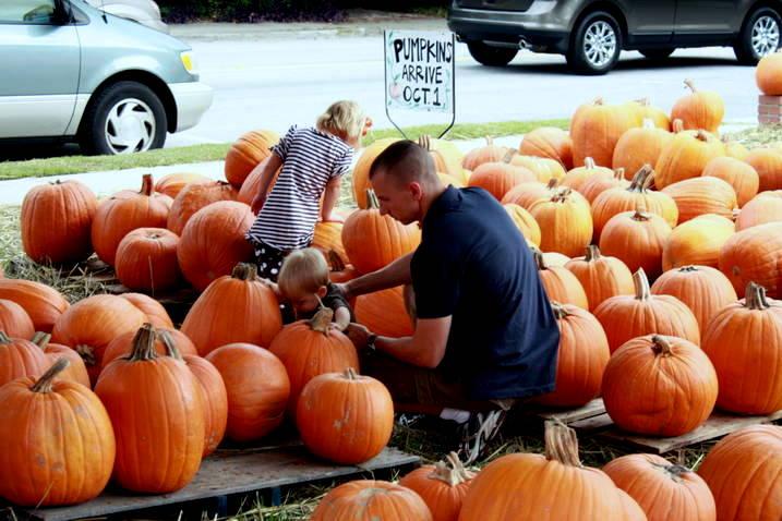 The Pumpkin Patch at Carteret Street UMC in downtown Beaufort opens Monday, Septemmber 26th.