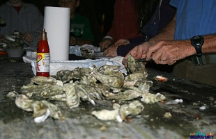 Nothing tastes the same as a fresh local Beaufort oyster.