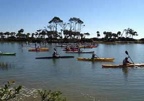 Enjoy Paddlefest 2014 at Hunting Island.  Photo courtesy Paddlefestsc.org