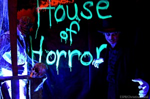 Bikers for Bullies haunted house open for business