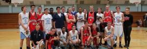 Beaufort Academy hosts boys basketball team from Australia