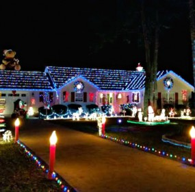 Lady's Island Christmas light display out of this world