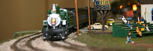 Model trains, old-fashioned city scapes return to Beaufort Library for Christmas