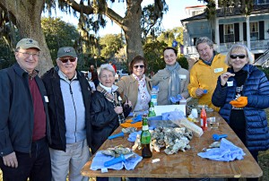 The Historic Beaufort Foundation held its annual Oyster Roast fundraiser on Saturday evening