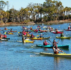 Hunting Island is the perfect spot for an Adventure Biathlon