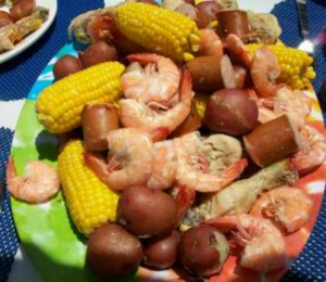 Meals for large gatherings of people would have to be made as quickly as possible with readily-available foods. The boil was a quick and easy way to prepare all the foods at once.